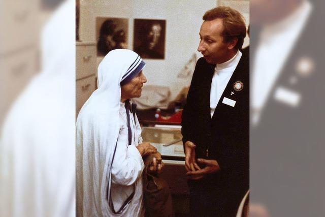 Als Mutter Teresa 1978 Freiburg besuchte