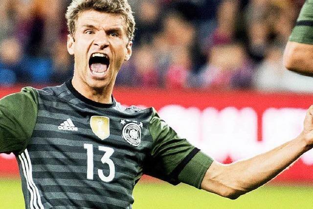 Thomas Müller trifft wieder: Deutschland gewinnt mit 3:0