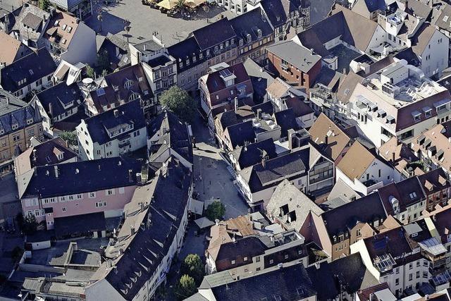 Ziel: Erhalt des historischen Stadtbilds