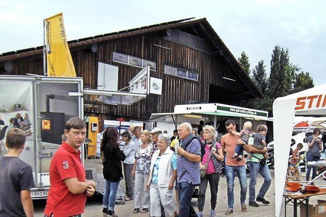 Hoffest mit Hausmesse