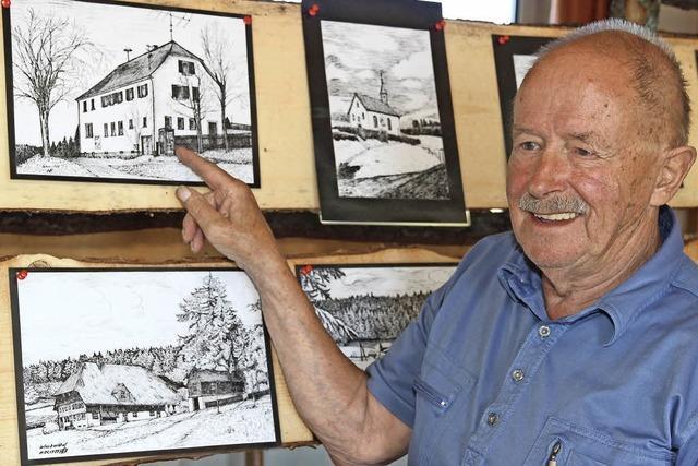 Seit 42 Jahren lebt Günther Paul in Schwärzenbach - und kennt das Dorf wie kein Zweiter