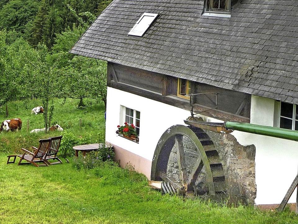 Der Name Kürner beruht auf dem mittelh... Schönbachhofs in St. Peter zu sehen.   | Foto: privat