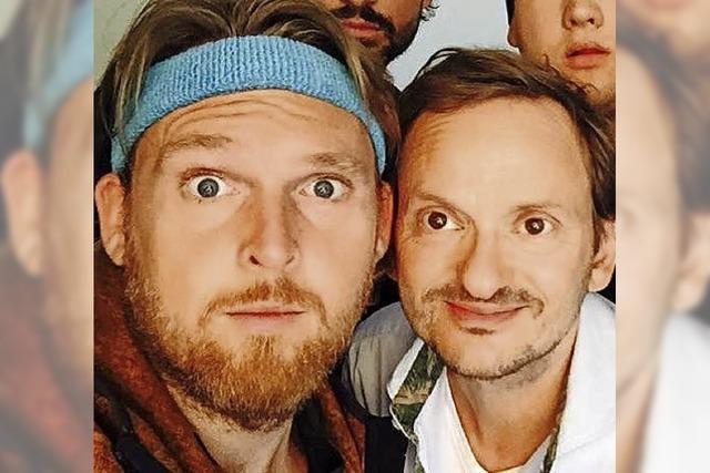 Axel Stein und Milan Peschel präsentieren ihren neuen Film Männertag