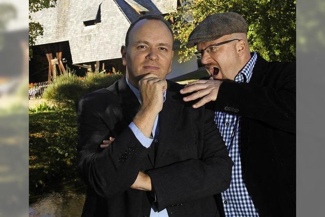 Alexander Rieckhoff und Stefan Ummenhofer lesen bei der Laufenburger Kulturnacht