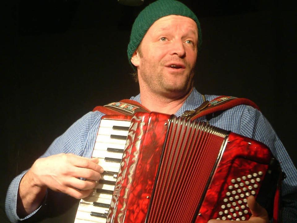 Martin Wangler (47), Schauspieler und Kabarettist aus Breitnau    Foto: Peter Stellmach