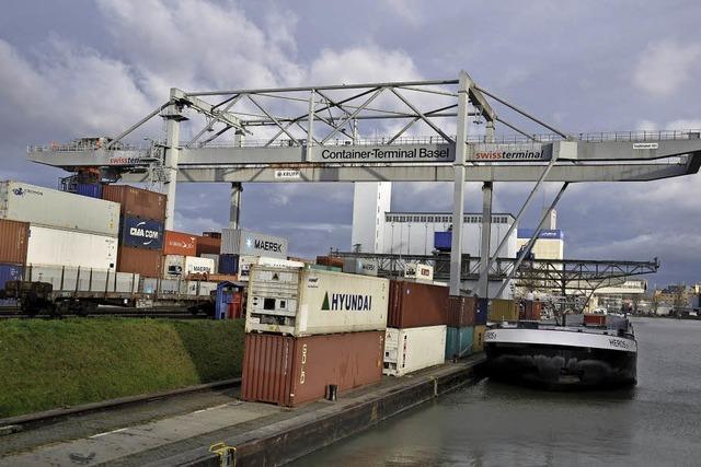 Geplanter Containerterminal im Hafen Kleinhüningen gilt als Schlüsselprojekt