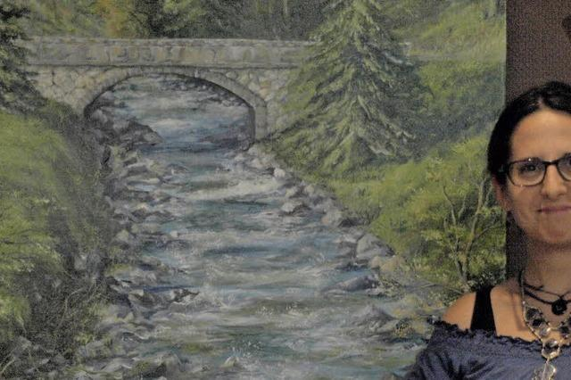 """Ausstellung mit Gemälden von Elena Romanzin aus Wehr derzeit im """"Ell"""""""