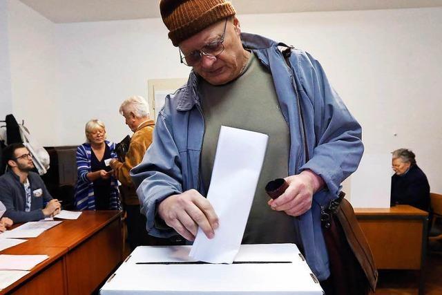 Nationalismus dominiert den Wahlkampf in Kroatien