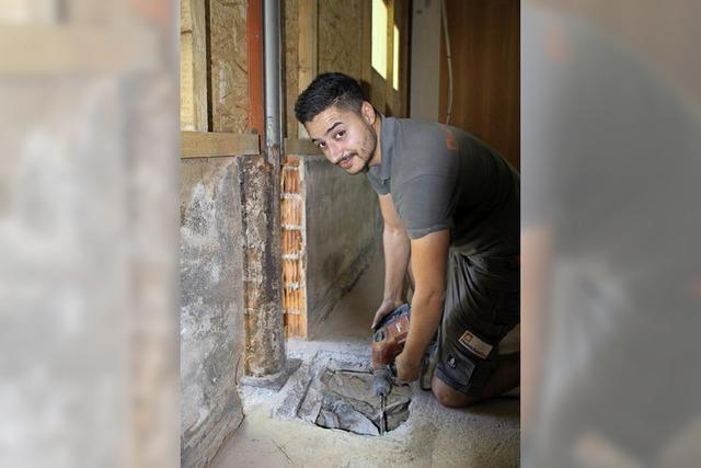 Architekt entdeckt Bauschlamperei bei Sanierung
