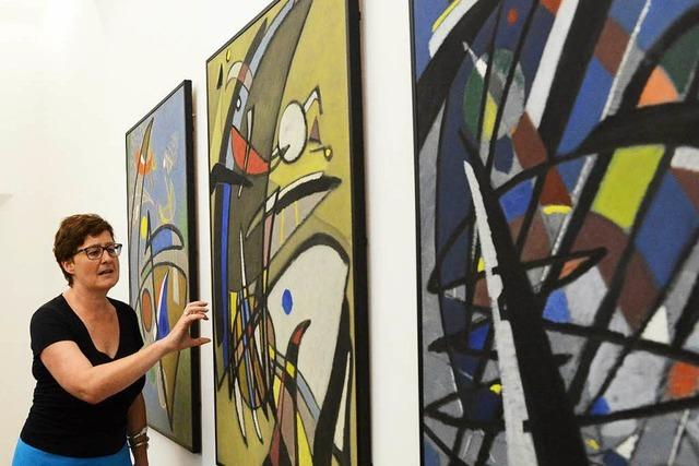 Fotos: Teilnehmer der BZ-Ferienaktion machen im Museum für neue Kunst blau