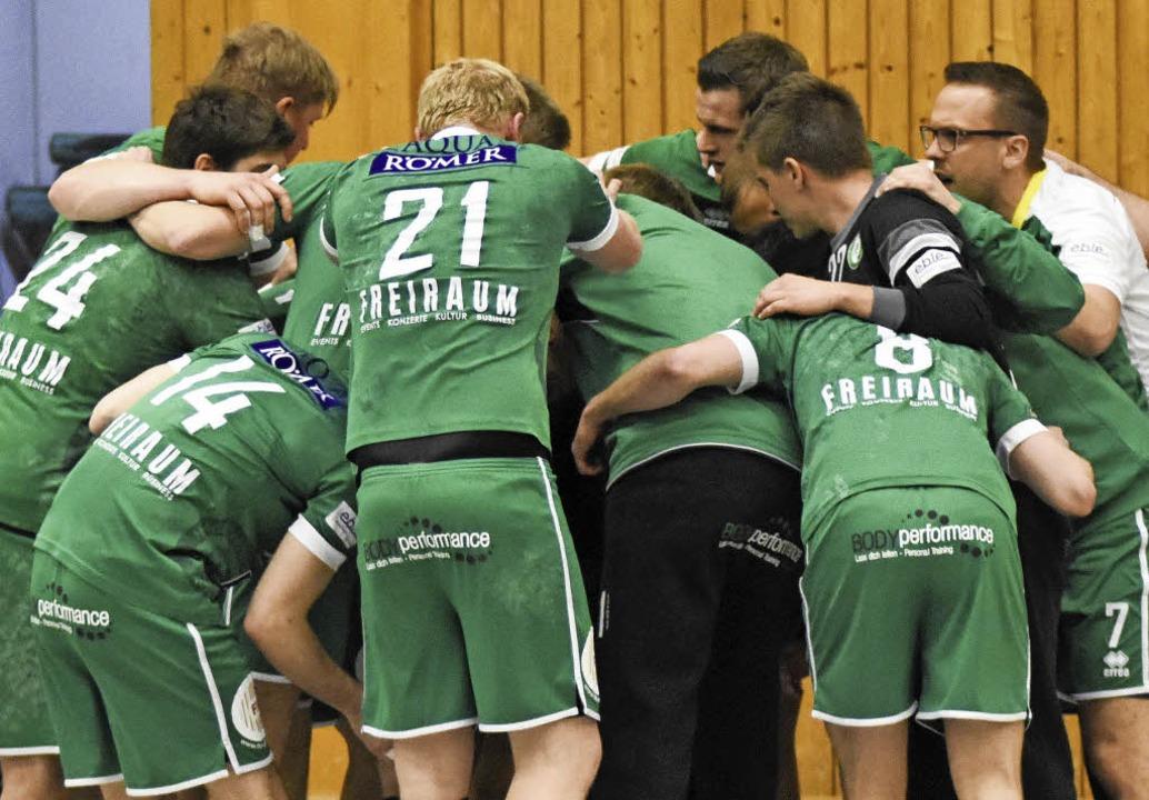 Ein starker Teamgeist soll die Hofweierer in der Liga halten.   | Foto:  Sebastian Köhli