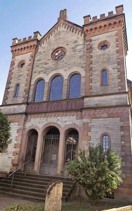 Der Förderverein der ehemaligen Synago...stätte und zum Begegnungsort gemacht.   | Foto: Susanne Gilg