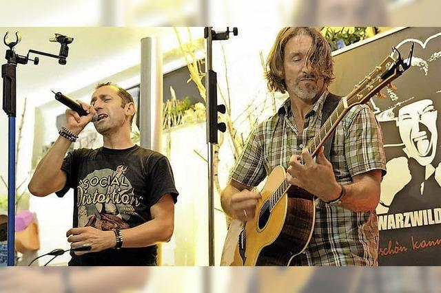 Konzert am Samstag, 10. September an der Wolfsgrube Zell-Weierbach