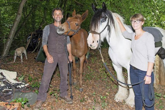 Die Pferdewanderer
