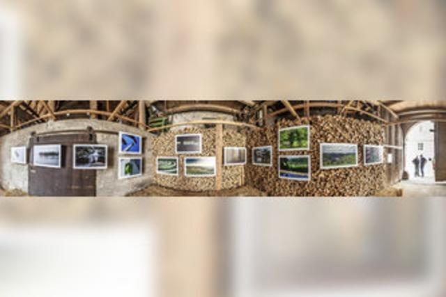 Ausstellung in der Scheune