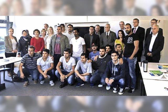 Ausbildung von Flüchtlingen