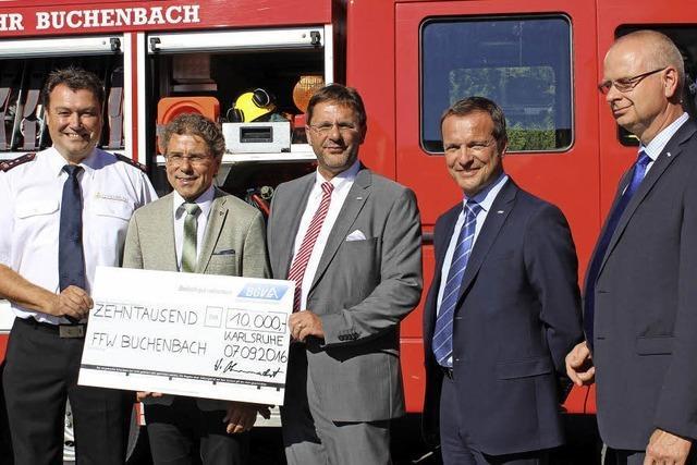 Willkommene Geldspritze für Feuerwehr