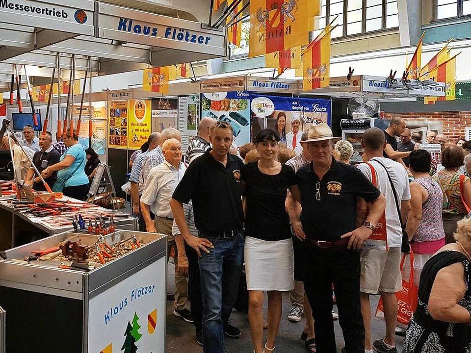 Deutsch ist auf der Europamesse nicht ...n Handler) Opfer eines alten Gesetzes.  | Foto: Privat