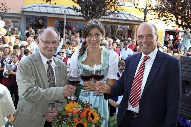 Bötzinger Weinfest eröffnet