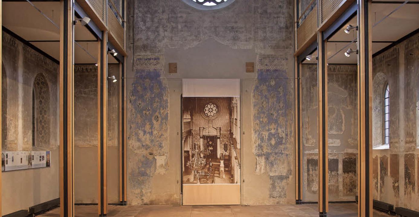 Innenraum der ehemaligen Synagoge in K...n Kulturzentrum  in der Ortenau wurde.    Foto: Peter Kees