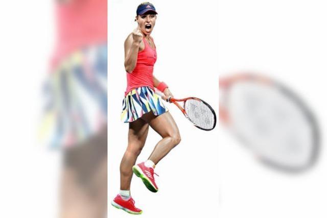 Angelique Kerber kann ihr zweites Grand Slam-Turnier gewinnen