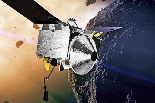 Sonde auf Weg zu Asteroiden