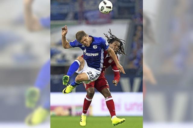 Mutige Schalker stoppen die Bayern nicht