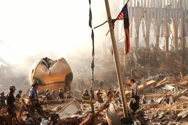 Welt in Trümmern: Am 11. September griffen Terroristen die USA an