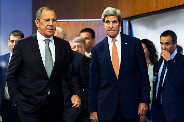 USA und Russland vereinbaren Waffenruhe für Syrien
