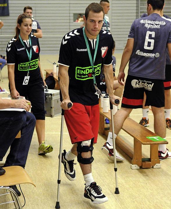 David Körkel wird in dieser Saison kaum Handball spielen.   | Foto: W.Künstle
