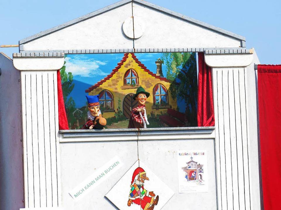 Kasperle-Theater auf dem Tafelberg – im Gottesdienst!  | Foto: Georg Voß