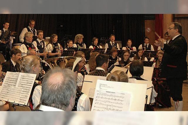Der Musikverein Trachtenkapelle Menzenschwand unterhält in Menzenschwand
