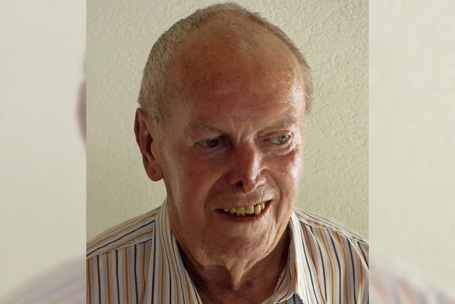 Erich Landerer wurde 80 Jahre