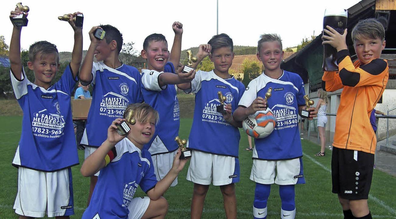 Sieger beim Turnier der E-Jugend: der  FSV Seelbach.   | Foto:  Roland Fischer
