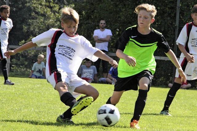 D-, E- und F-Junioren spielten beim Magnus-Schwitzler-Turnier der Sportvereinigung Brennet-Öflingen