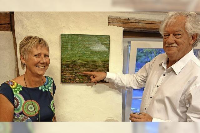 """In der Schür wurde die Kunstausstellung """"40 Jahre Stühlingen"""