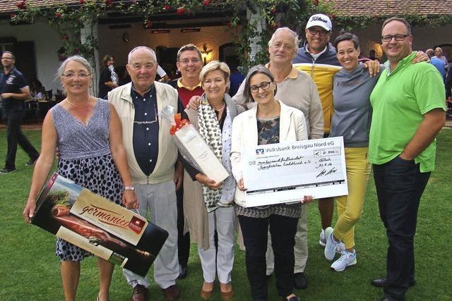Golfer spielen 2500 Euro ein