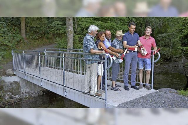 Brücke über die Brugga ist erneuert