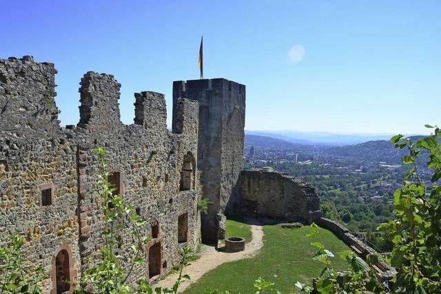 Burg Rötteln über Lörrach: Wahrzeichen mit Weitblick