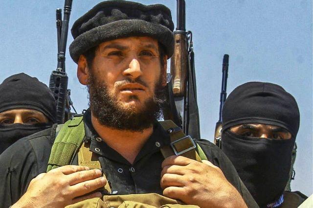 USA bestätigen Tod von IS-Propagandachef al-Adnani