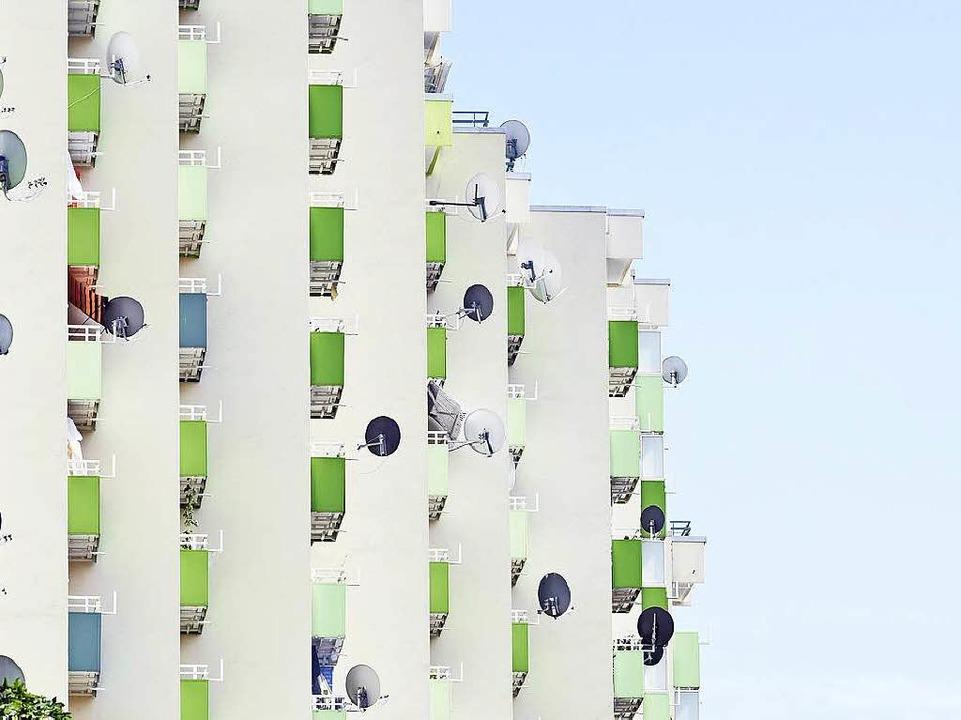 In der Wirthstraße im Stadtteil Landwa...rsten Menschen in den neuen Stadtteil.  | Foto: Thomas Kunz
