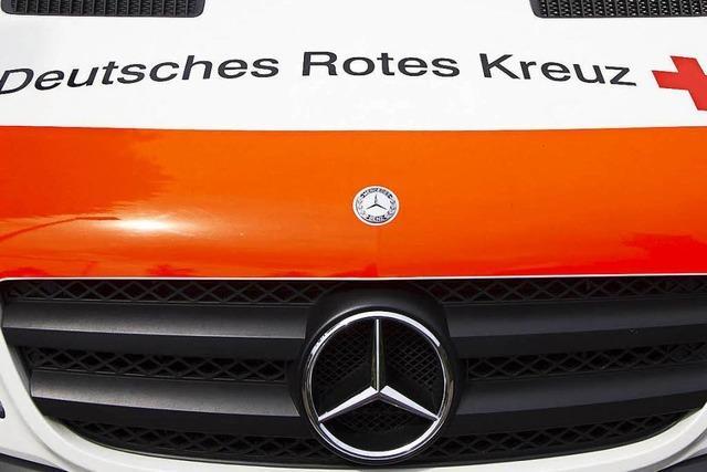 Auffahrunfall in Lörrach: Mit Wucht ins Heck gefahren