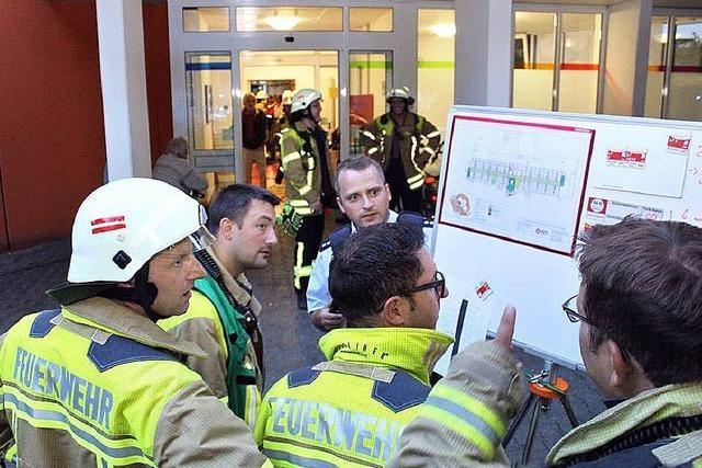 Pflegerin löscht Brand in Bad Krozinger Pflegeheim
