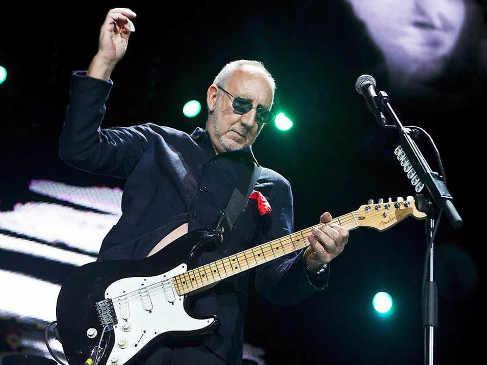 In alter Frische: Pete Townshend  | Foto: dpa
