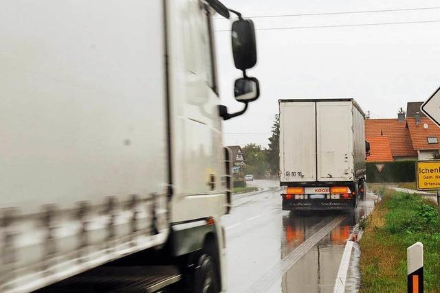 Neurieder Ortsteile wollen Lkw-Verkehr verringern