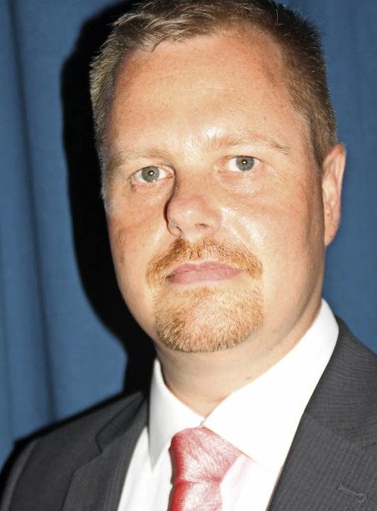 Seit Beginn des Schuljahres ist Raphael Schopp Leiter der Gewerbeschule.    | Foto: Leutenecker