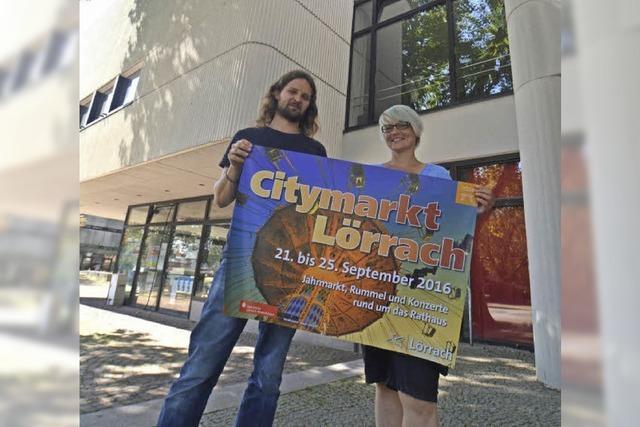 Der 6. Lörracher Citymarkt startet am 21. September