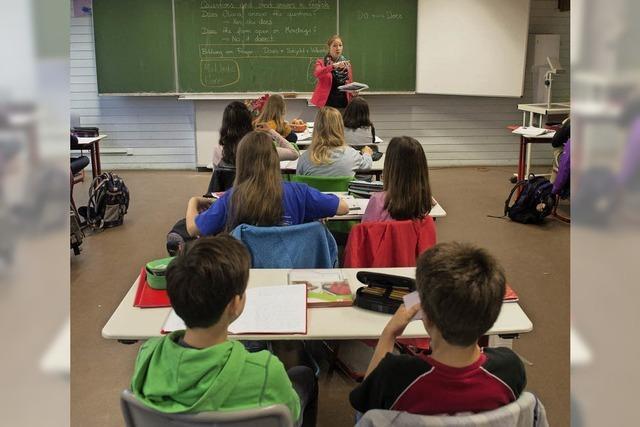 Die Schülerzahlen in Lörrach steigen