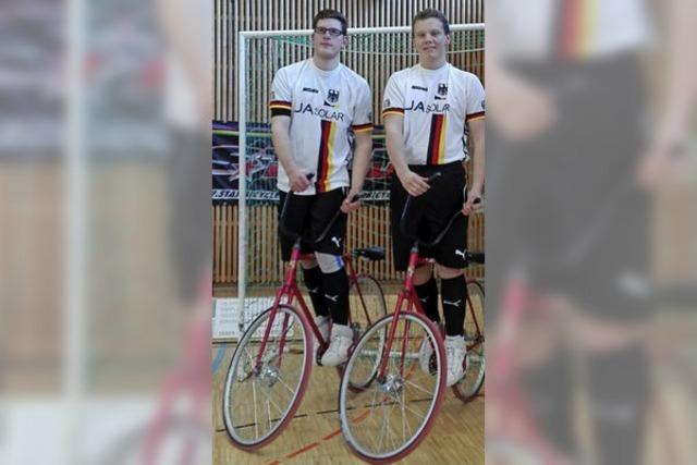 Radballteams nach Japan