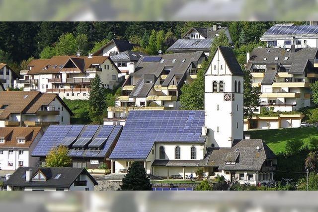 17 Prozent Strom lokal erzeugt